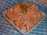 Mrkvový salát s česnekem recept