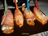 Silvestrovské lososové rolky s koprem recept