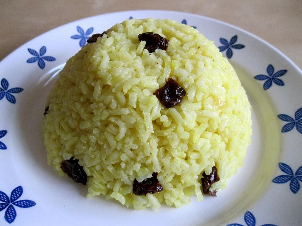 Rýže na orientální způsob recept