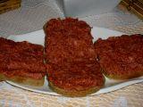 Tatarák z buřtů recept