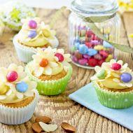 Rozkvetlý jarní cupcake recept