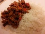 Rychlý oběd ze sojového masa recept
