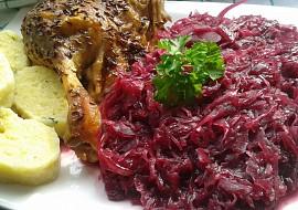 Karamelizované kysané červené zelí s brusinkami. recept ...