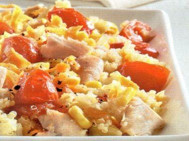 Salát z kuřete a quinoi
