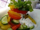 Zeleninový salát s kefírovou zálivkou recept
