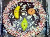 Čokoládovo-vanilkový dort recept