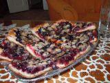 Koláč z kynutého (kvasnicového) těsta s aronií recept