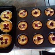 Malinové muffiny recept