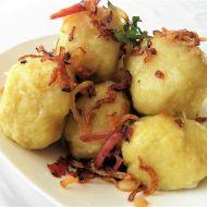 Chlupaté kulaté bramborové knedlíky recept