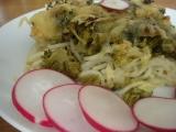 Zapečená brokolice se špagetami recept