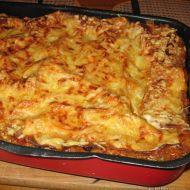 Lasagne s masem a zeleninou recept