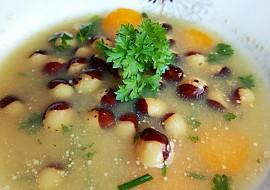 Fazolová polévka s Hraškou recept