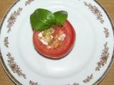 Plněná rajčata s kozím sýrem recept