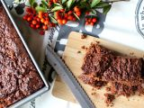 Tahini brownies recept
