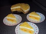 Lehký dort s mandarinkami recept