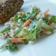 Pestrý salát s cottage sýrem recept