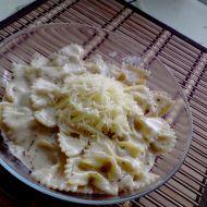 Smetanová omáčka k těstovinám recept