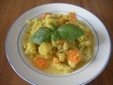Květák a mrkev s curry recept