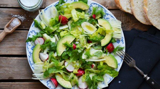 Rychlý salát s fenyklem