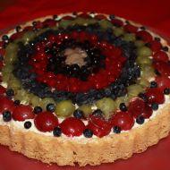 Lehký ovocný dort recept