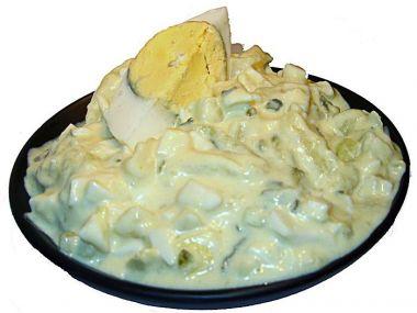 Sytý vajíčkový salát