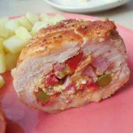 Kuřecí roláda plněná vaječinou recept