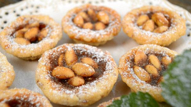 Sicilské mandlové koláčky