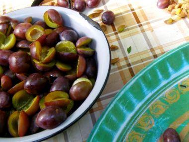 Bleskové zavařování hrušek, jablek a švestek
