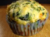 Špenátové muffiny s fetou recept