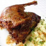 Husokachna s ricottovou bramborovou kaší recept