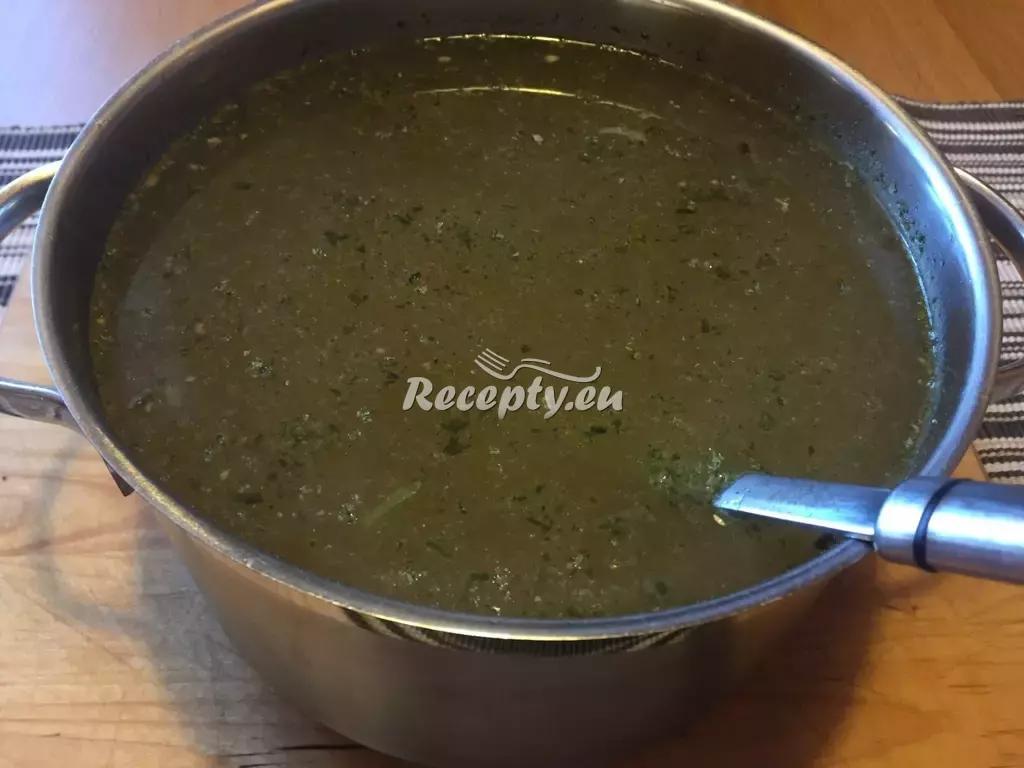 Lososový vývar se zeleninou recept  polévky