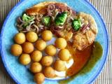 Krůtí plátky s cibulí a brokolicí recept