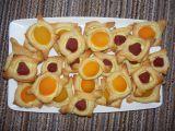 Ovocné listové mašličky recept