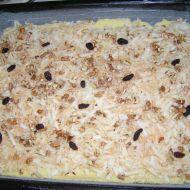 Mřížkový koláč s jablky recept