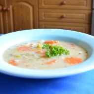 Lososová polévka recept