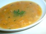 Mrkvovo-česneková polévka recept