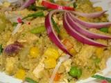 Tofu s kuskusem a zeleninou recept