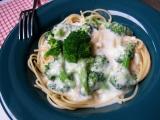 Celozrnné těstoviny s brokolicí recept