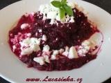 Salát z červené řepy s Fetou recept
