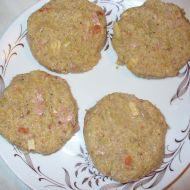 Kapustové placky se salámem recept
