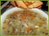 Stonková polévka s pohankou recept