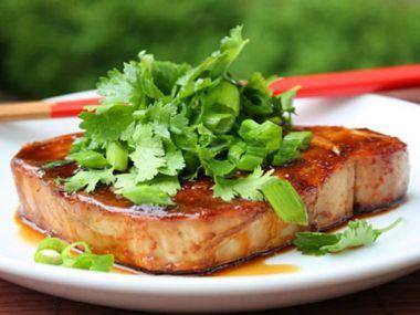Recept Tuňák s tamarindovou omáčkou