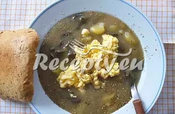 Krkonošské kyselo recept  houbové pokrmy