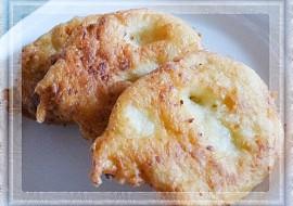 Bramborové langoše s cibulí recept