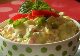 Vajíčkový salát se šunkou a jogurtem recept