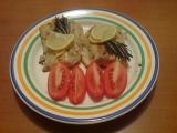 Losos s rozmarýnem / dietni recept