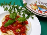 Špagety s pomarolou recept