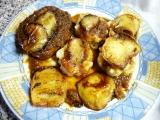 Plátky na jablku s Wasabi pastou a pečeným jablkem recept ...