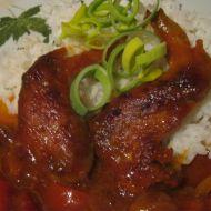 Sladko-kyselé kuře recept