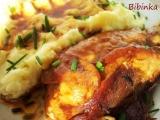 Krůtí stehno pod karamelovým závojem-pikantní recept ...
